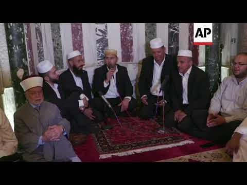 Muslims Celebrate Islamic New Year At Al-Aqsa Mosque