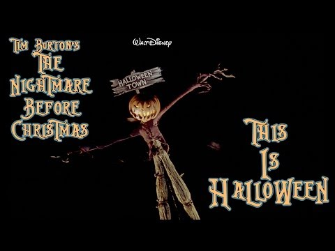 This is Halloween - Nightmare Before Christmas (The Citizens of Halloween Town) | HD