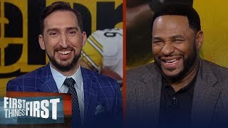 I'm going with the Chiefs — Jerome Bettis gives his Super Bowl LIV pick | NFL | FIRST THINGS FIRST