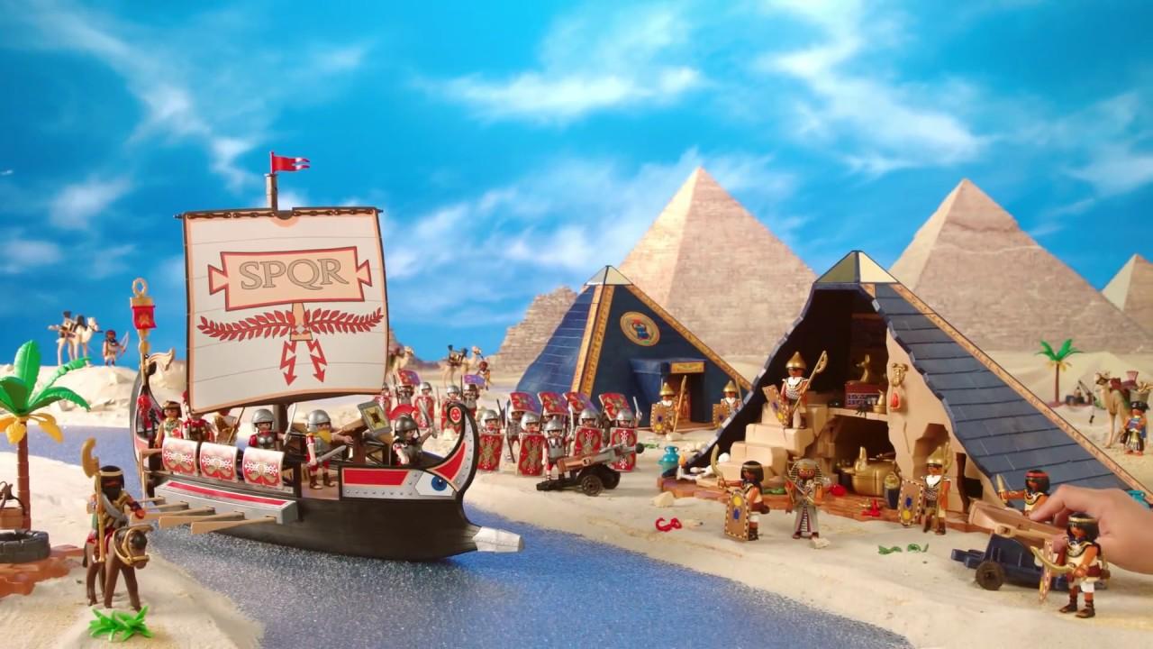 Playmobil romans and egyptians youtube - Playmobil egyptien ...