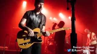 "U2, ""California"" - Live at The Roxy in West Hollywood"