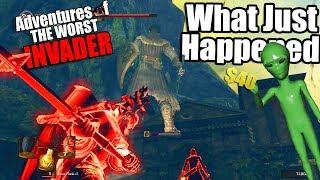 Dark Souls Remastered PvP -Adventures Of The Worst Invader - Weirdest Thing I've Seen...