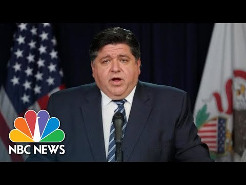 Live: Illinois Gov. Pritzker Gives Updates On Coronavirus Response | NBC News