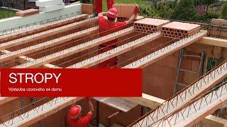 Stropy   Výstavba vzorového e4 domu