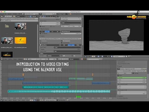 Introduction to Video Editing in Blender Part 01