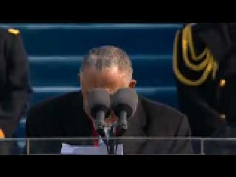 Joseph Lowery delivers Inauguration Benediction for Barack Obama