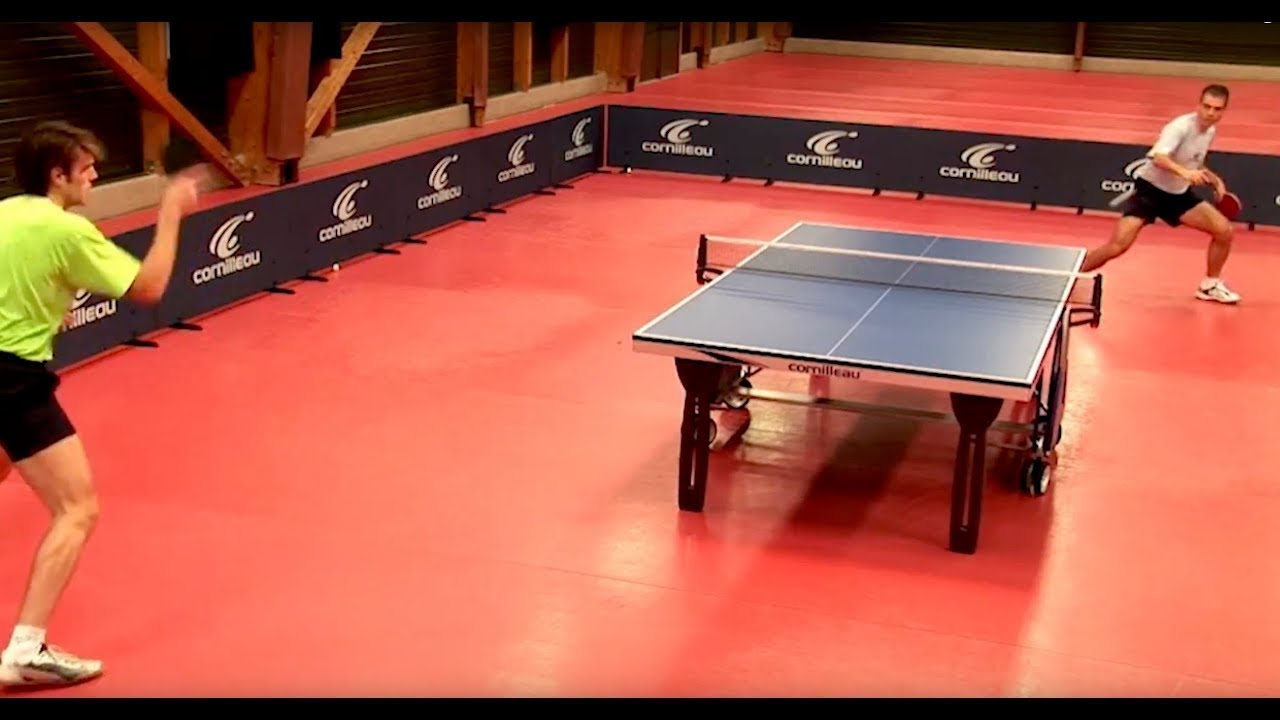 Improve Your Table Tennis Skills Advanced Top Spin Youtube