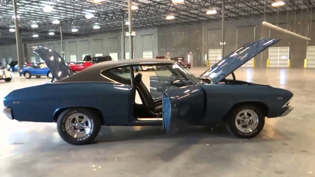 Cars For Sale In Tampa >> 1969 Chevrolet Chevelle SS: Stock# 65 at our Tampa showroom - YouTube
