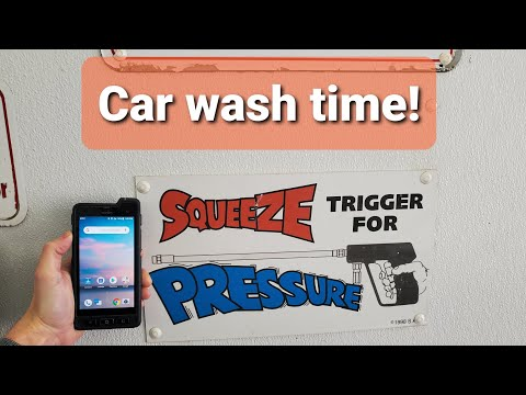 Sonim XP8 vs car wash