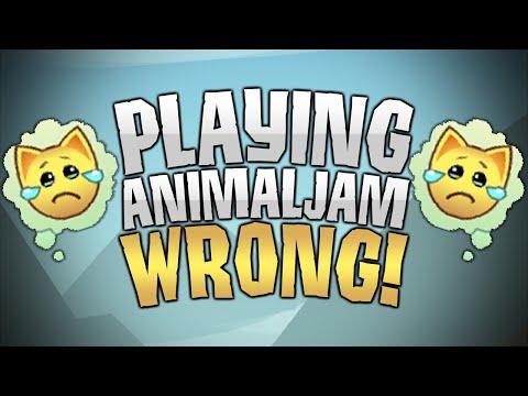 PLAYING ANIMAL JAM THE WRONG WAY!