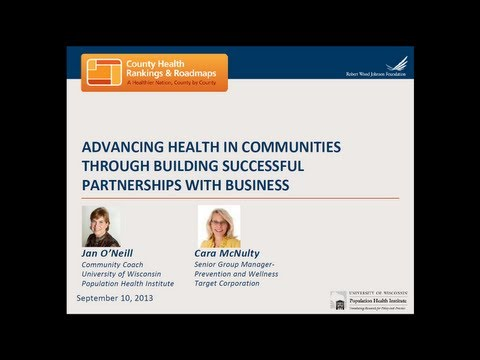Advancing Health in Communities through Building Successful Partnerships with Business