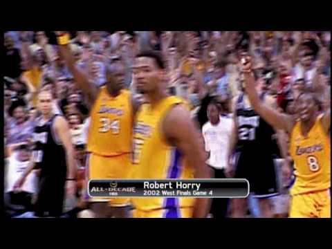 d49dd216ed2 robert horry game winning shot vs kings 2002 - YouTube