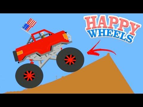 UM MONSTER TRUCK GIGANTE!!! - HAPPY WHEELS #39