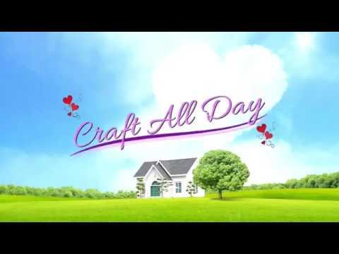A Brief Craft All Day Advert - Card-Making Scrapbooking Crafts Art