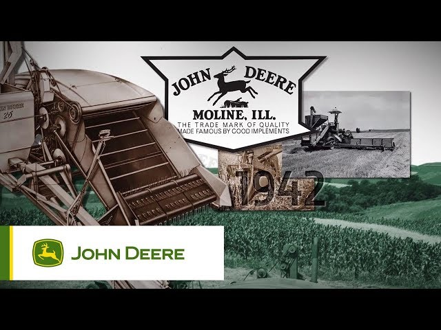 The John Deere S700 Series combines - The 2018 Harvesting Solution