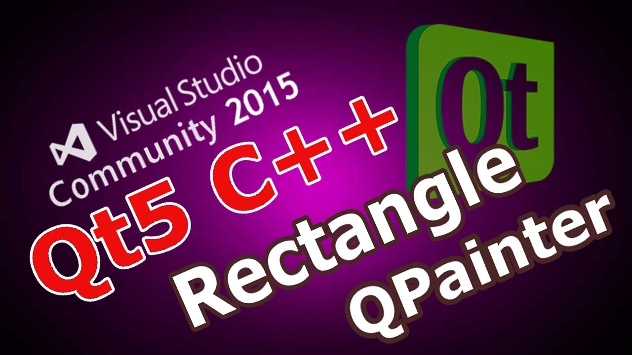 Qt5 C++ Drawing Rectangle (QPainter, QPen, QBrush) In Qt #25