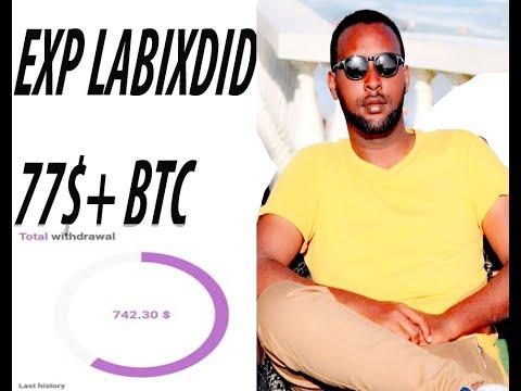 SIDEE LOOGA SAMEEYO  BTC    EXP ASSET Somalia Bitcoin Labixid 775$    ADOO GURIGA AMA SHAQADA JOGA