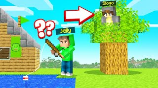 I Found Out MY FRIEND SECRETLY MOVED Into BEETOWN! (Minecraft)