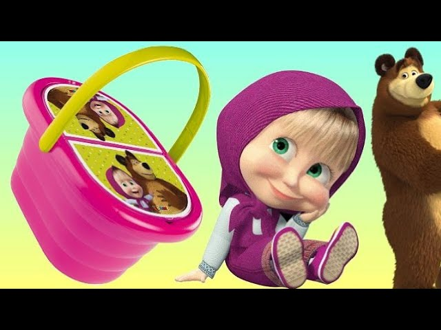 masha-and-the-bear-picnic-basket-play-doh-toyset-маша-и-медведь-сюрприз-игрушки-trolls-surprise-tuyc