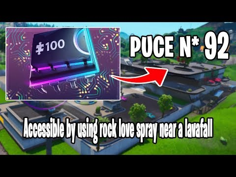 puce-decryptage-92-|-accessible-by-using-rock-love-spray-near-a-lavafall-|-fortnite-battle-royale