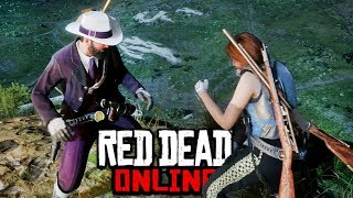 The Mountain Top Fight Club In Red Dead Online