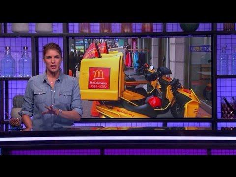 Eindelijk: McDonald's gaat thuisbezorgen - RTL LATE NIGHT