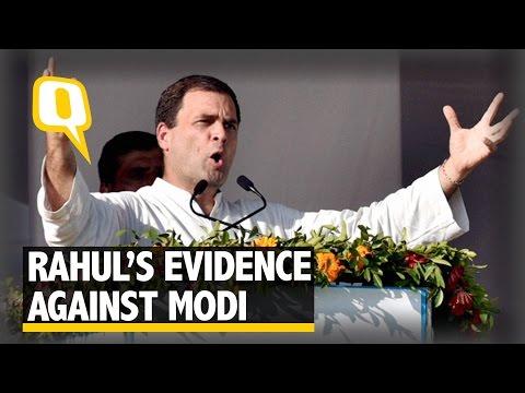 The Quint: PM Modi Received Kickbacks from Sahara Group: Rahul Gandhi