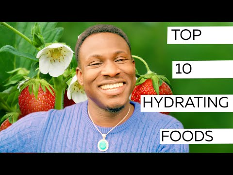 Top 10 Hydrating Foods | WARNING - Feel Incredible
