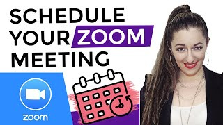 How to Schedule a Zoom Meeting in Advance: Step by Step Tutorial ✅