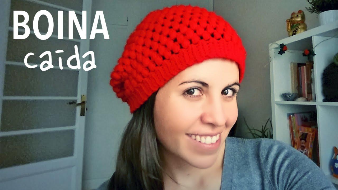 Cómo tejer una Boina Caída (Slouchy Beanie) a Crochet - ENGLISH SUBS ...