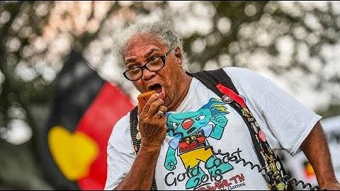 """Aborigines protestieren: """"Ganz Australien ist ein Tatort"""""""