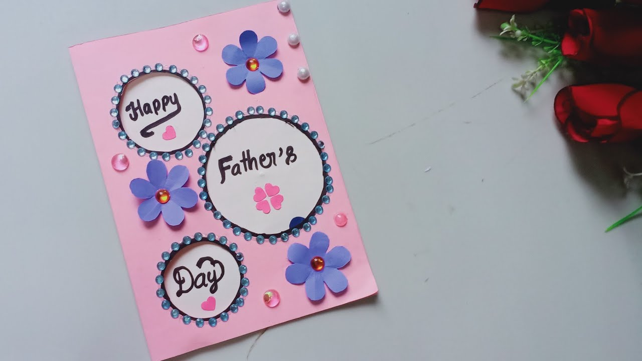 father's day card easy and beautiful  fathers day cards