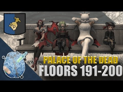 Final Fantasy XIV: Palace of the Dead FINALE (Floors 191-200)