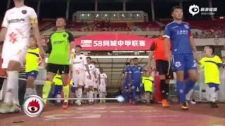 2016.07.24 R.19 China League Shanghai Shenxin 5:0 Qingdao Johoon