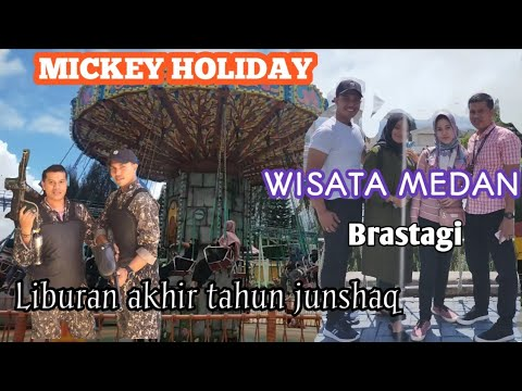 mickey-holiday,wisata-medan,liburan-junshaq-akhir-tahun-youtuber-medan