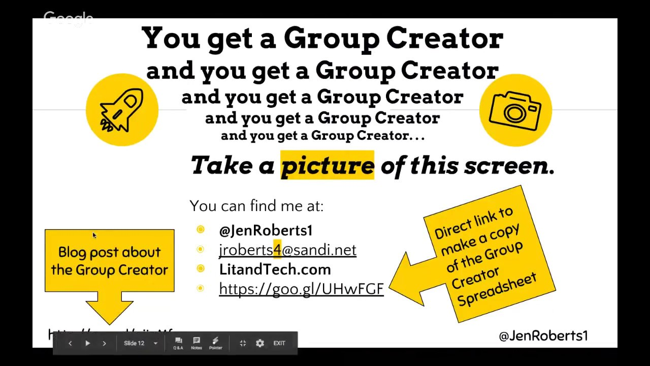group creator spreadsheet fast and functional youtube