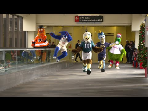 Off The Air: Jammin' Jessie - Philly's mascots made a holiday video!