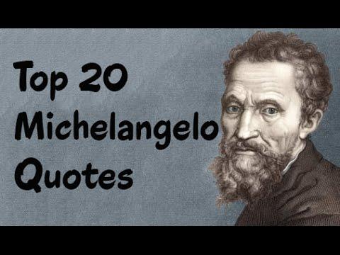 Michelangelo Quotes 1