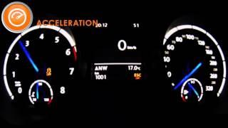 2015 vw golf 7 r 292 hp acceleration 0 270 km h acr motors