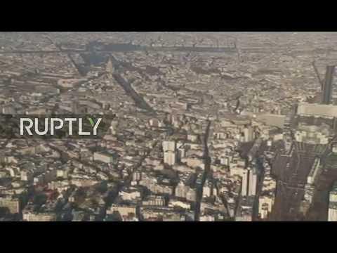 LIVE: Protest against fuel prices hits Paris: aerial view