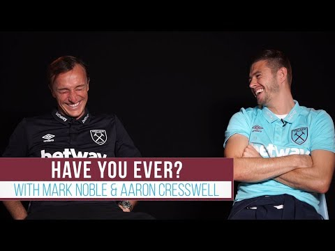 """I texted Cresswell's mum once!"" 