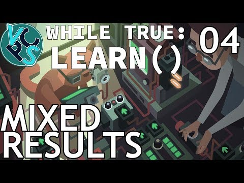 Mixed Results - while True: learn() EP04 - Machine Learning Puzzle Sim Tycoon