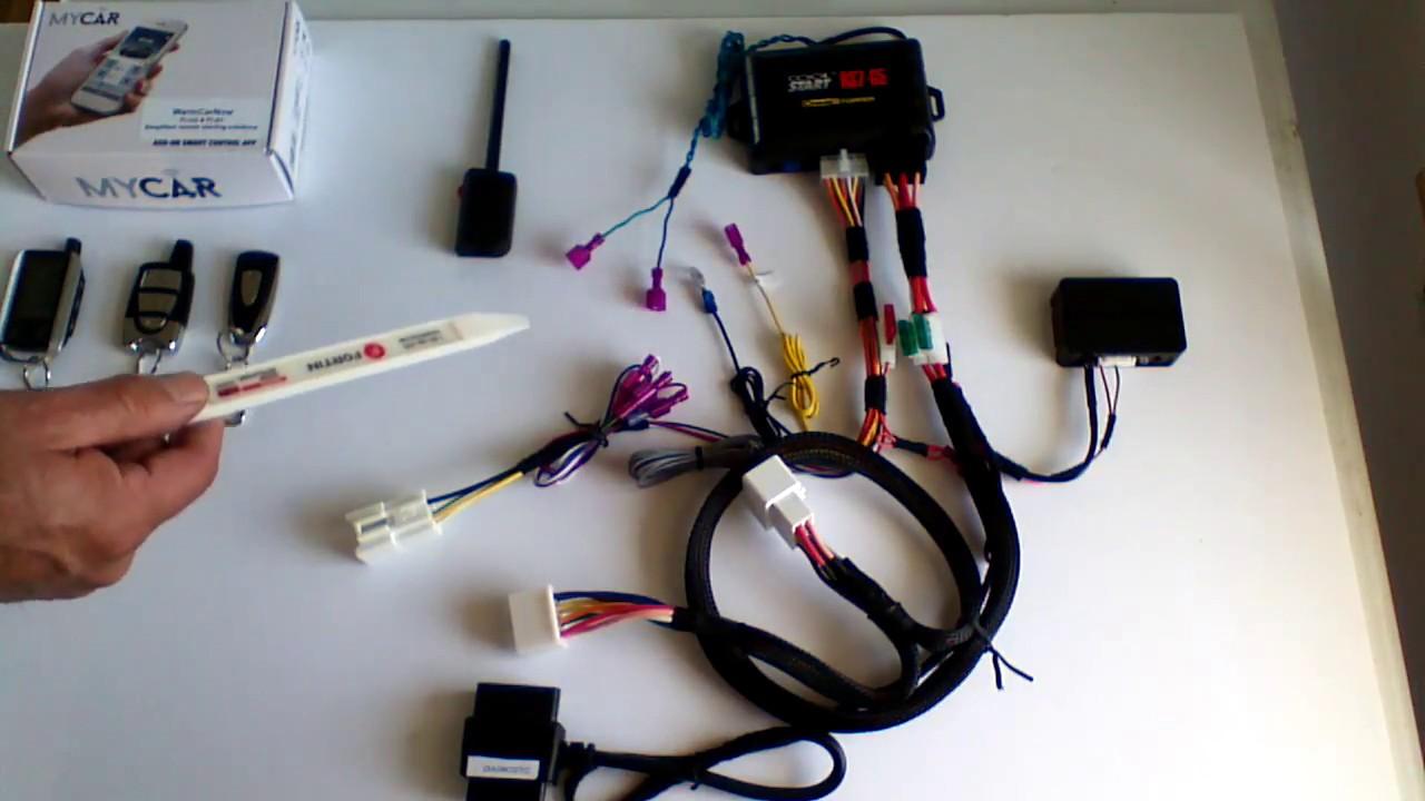2010-2015 toyota tacoma g key easy install semi plug & play remote start