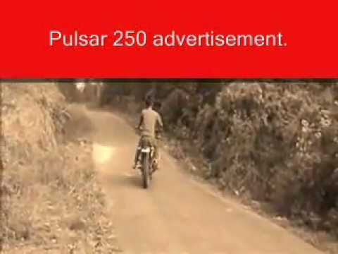 Just for fun with Pulsar 250 -Please dont try this at home, at school or anywhere