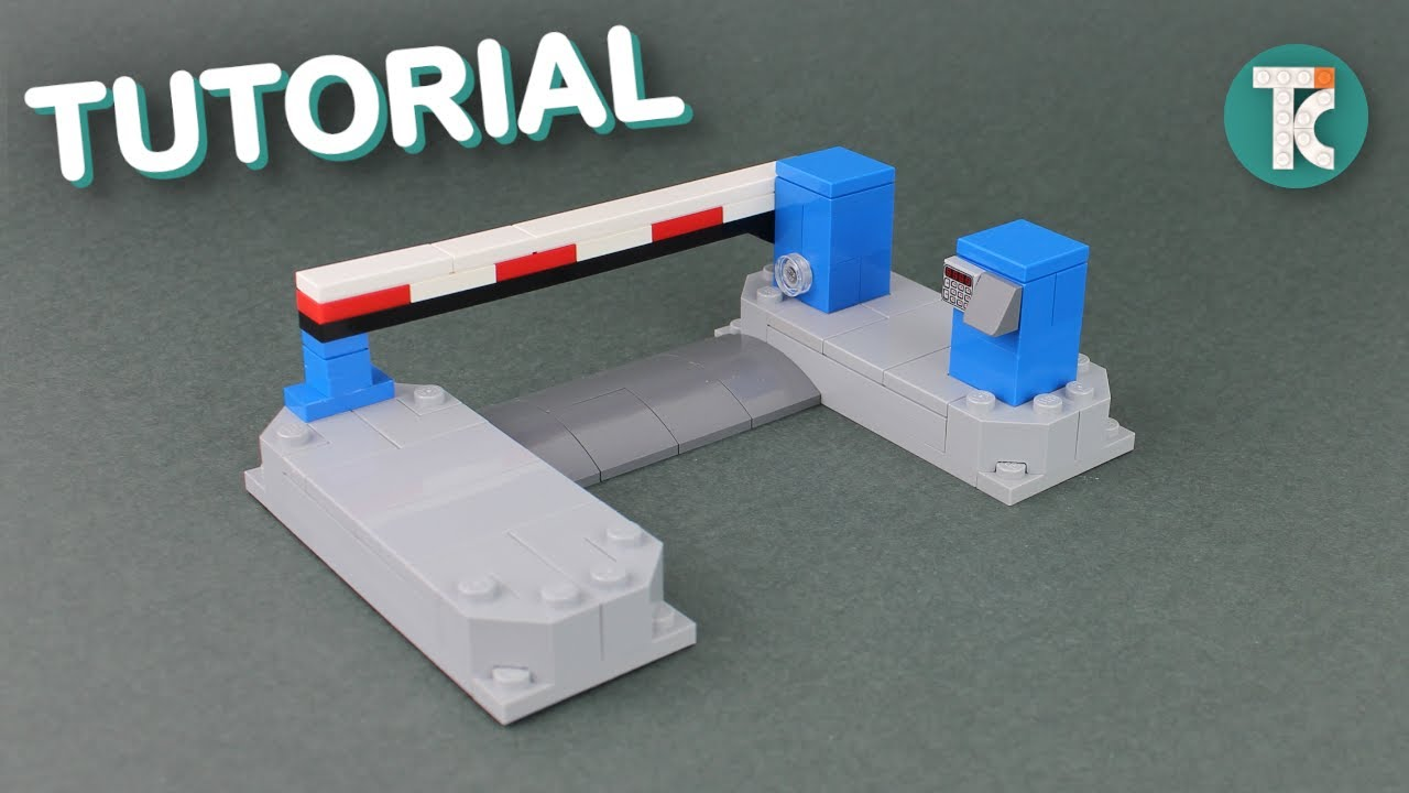LEGO Parking Gate (Tutorial)