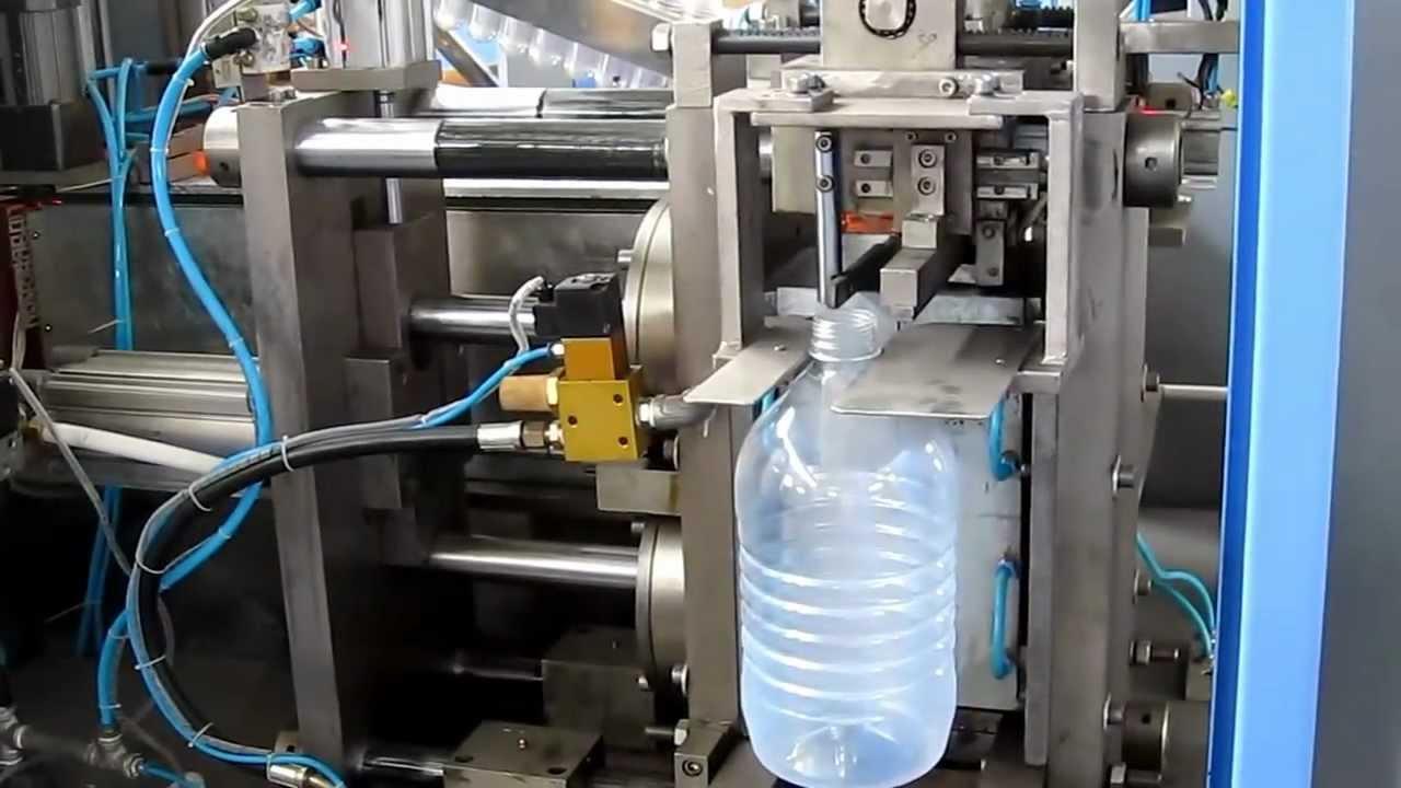 1000bph Automatic Pet Blow Molding Machine 5liter Bottle