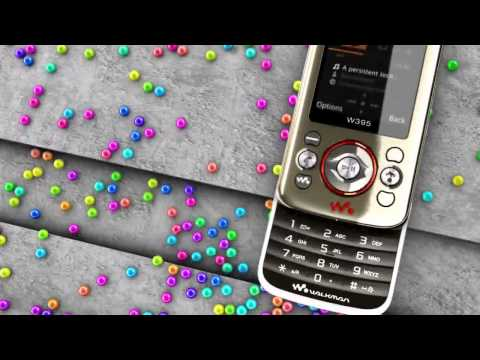 Sony Ericsson W395 Demo Tour [HD]