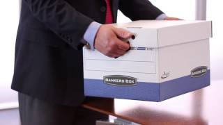 Bankers Box® Presto™ Fastest Assembly Letter/Legal Size Boxes