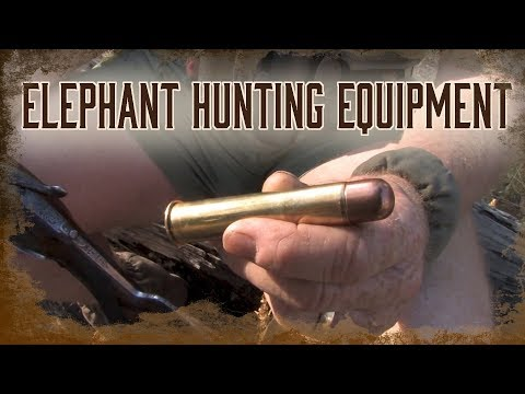 Equipment For African Elephant Hunting | 2