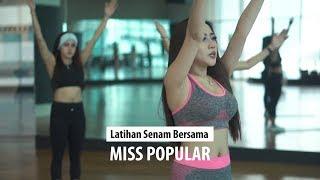 Senam Menurunkan Berat Badan | Karantina Miss POPULAR Next Top Model 2019